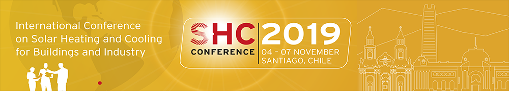 SHC 2019 - International Conference on Solar Heating and Cooling for Buildings and Industry